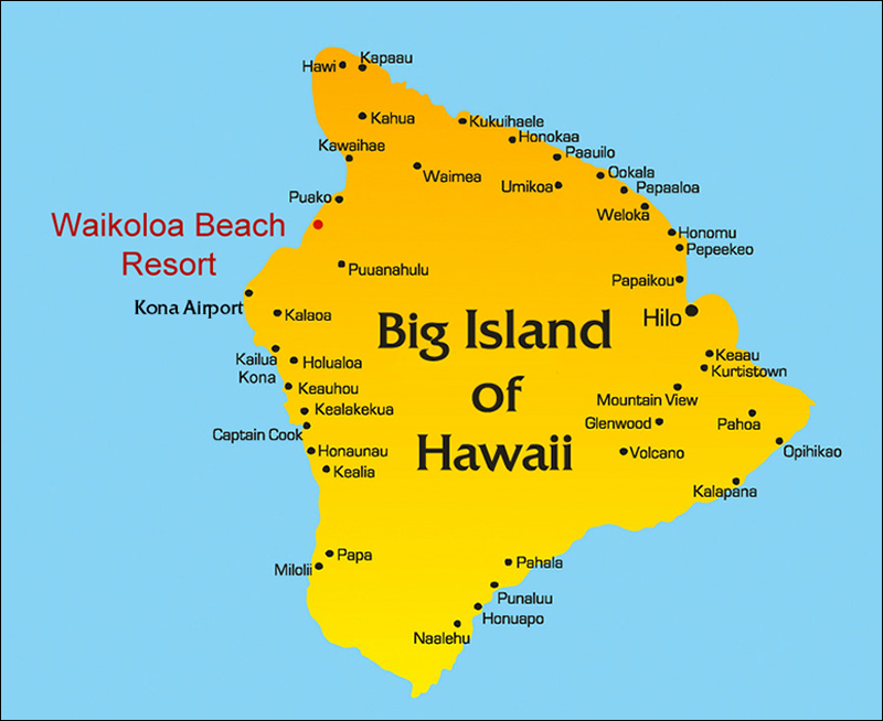 Maps Directions Hawaii Resort Rentals
