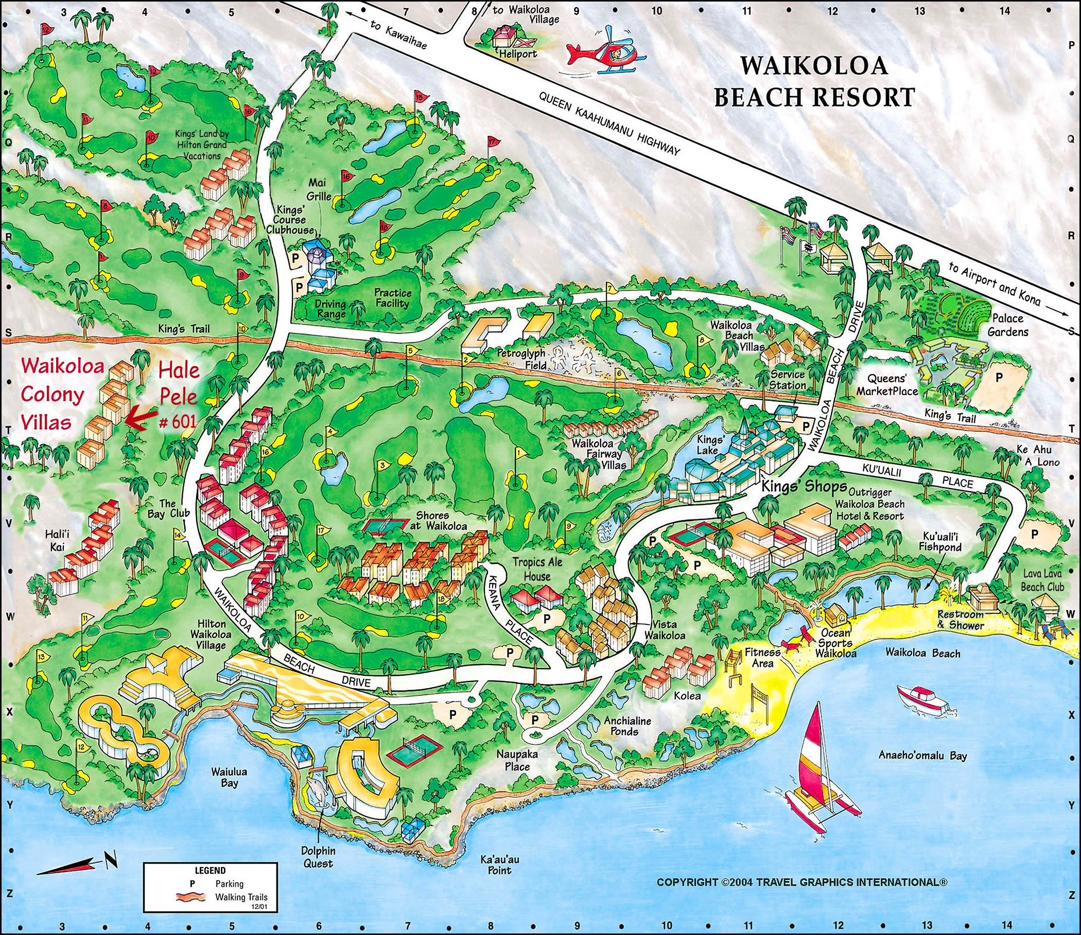 Waikoloa Beach Resort Map Hawaii Resort Rentals